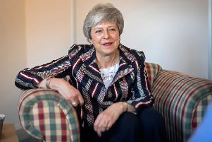 Theresa May is resigning after nearly three years as Prime Minister (VICTORIA JONES/AFP/Getty Images)