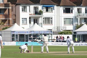 Championship action at Hove