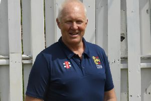 Hastings Priory Cricket Club coach Ian Gillespie