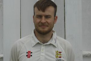 Jack Stapley made 89 not out off 59 balls for Hastings Priory seconds against Seaford