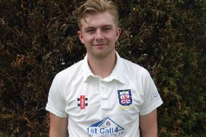 Cameron Burgon scored an unbeaten century in Bexhill's victory against Rye