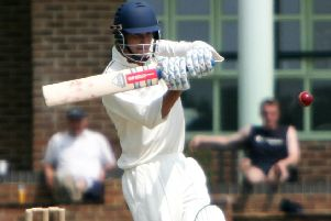 Chris Morris batting for Hastings Priory back in 2008. Picture courtesy Jake Badger