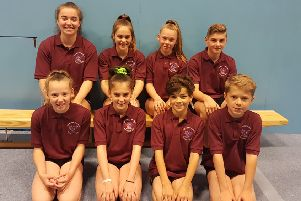 The Hollington Gymnastics Club talents who have qualified for the Regional Team Final and NDP Semi-Final