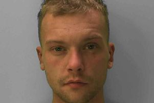 Luke Smith, 27, was convicted at Hove Crown Court today. Photo: Sussex Police