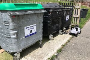 Emma Hanks said both her bins have been set alight in the past week