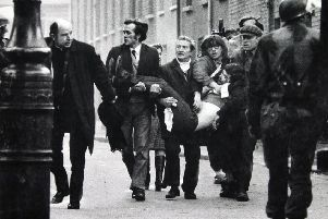 Fourteen people died after the Parachute Regiment opened fire on Bloody Sunday