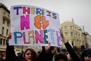 Climate change rally, Hastings 15-03-19. Images by Project Rewild SUS-190316-144755001