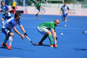 Ireland's Eugene Magee scored twice in a 4-2 win over Scotland