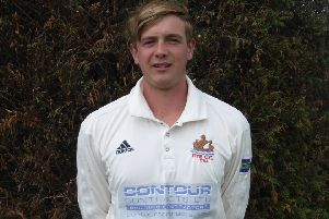 Harry Smeed was Rye Cricket Club's man of the match in the victory against Eastbourne II after scoring a brilliant 130