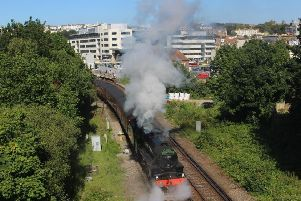 Steam train at Hastings 1 SUS-190624-081130001