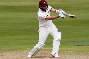 Alex Wakely top scored for Northants with 65