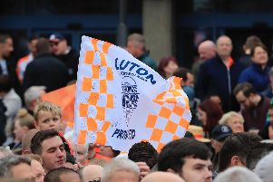 Luton are playing in the Championship for the first time since the CHECK season