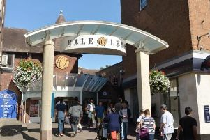 Hale Leys shopping centre in Aylesbury