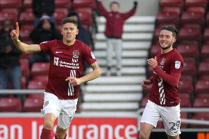 Alex Revell scored 13 goals in his 18 months at the Cobblers