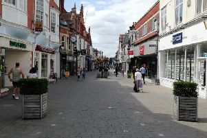 West Street in Horsham town centre
