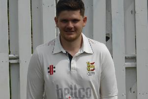 Hastings & St Leonards Priory skipper Tom Gillespie. Picture by Simon Newstead