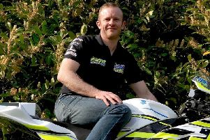 Ballyclare road racer Darren Keys, who was killed in a crash at the Walderstown Road Races on Sunday.