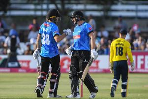 Phil Salt and Luke Wright gave the Sharks a flying start / Picture by PW Sporting Photography