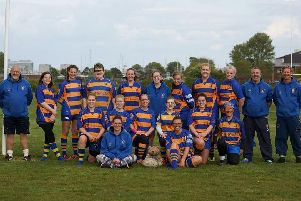 The Gosport Goddesses finished the season in determined mood