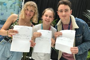 Students with their results SUS-190815-123834001