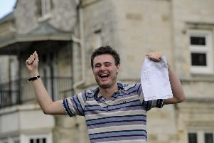 Bay House School A Level results.''Cameron Hall.'''Picture: Ian Hargreaves  (150819-8)