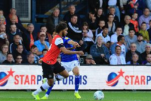 Izzy Brown was in fine form on his debut against Ipswich on Tuesday night