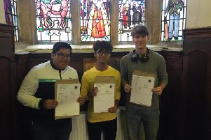 Impressive GCSE results at Boston Grammar School