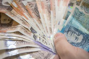 The rules surrounding finding money on the floor are not that clear