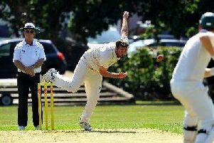 Ross Baumann struck 37 but Goring were relegated from Division 2. Picture by Steve Robards