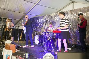 Super-Ska Night - The Launch of Hastings Seafood and Wine Festival SUS-190309-091803001