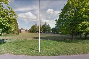 The parcel of land earmarked for development off Blackwell Farm Road (Photo from Google Maps Street View)