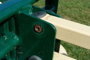 """Park equipment had been deliberately damaged in a way that """"appears to have been intended to cause injury"""""""