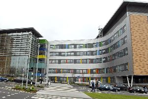 Queen Alexandra Hospital in Cosham. Picture: Will Caddy