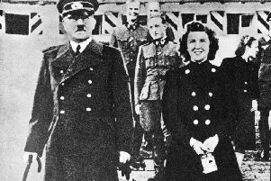 Nazi leader Adolf Hitler and his longtime mistress Eva Braun. Photo: Getty Images