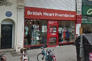 The British Heart Foundation store in Western Road, Brighton. Picture: Google Maps