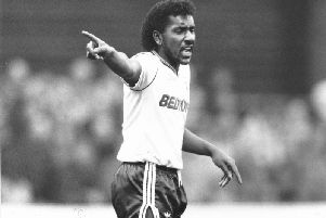 Ricky Hill in action for the Hatters during his time at Kenilworth Road