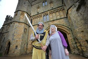Battle of Hastings 2019 event at Battle Abbey