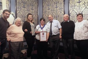 Hastings Week 2019: The Order of 1066 Award. Photo by Roberts Photographic''Award presented to Janice Harmer SUS-191015-082944001