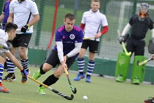 Portsmouth 2nds' Alex Williams against Southampton