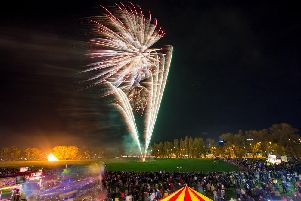 Portsmouth City Council's annual bonfire and fireworks display, will take place at King George V playing fields, in Cosham, on Wednesday. Picture : Habibur Rahman
