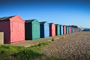 West Marina beach huts