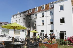 Three people died following a fire at St Michael's Hospice