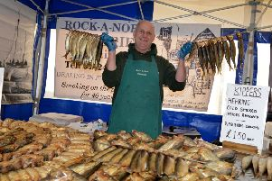 Hastings Herring Fair 2018''Sonny Elliot, owner of Rock a Nore Fisheries, SUS-181118-104108001