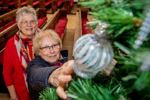 Photographs from last year's Christmas Tree Festival in Louth.