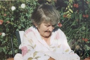 Dorothy Watson. Picture courtesy of Sophie Watson SUS-191126-134925001