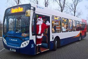 Some Stagecoach services will finish early on Christmas Eve