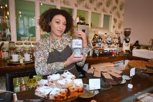 Lauren Eva, the owner of Cake Room in Hastings