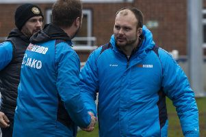 Tudors' boss Joe Deeney was as frustrated as anyone that Saturday's game was postponed but was proud of the club's efforts to get the pitch cleared. (File picture: Marc Keinch).