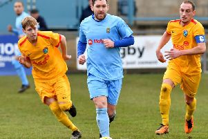 Richard Bunting was back in the team last weekend after a 14-game absence through injury, replacing Richard Blythe    Picture by Martin Pulley