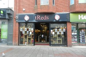 tReds in Worthing's Montague Street